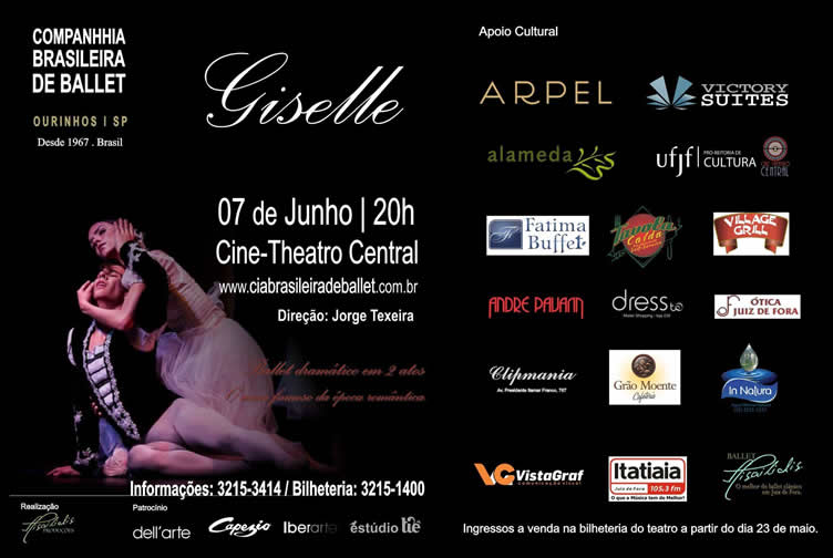 Giselle companhia brasileira de ballet 1