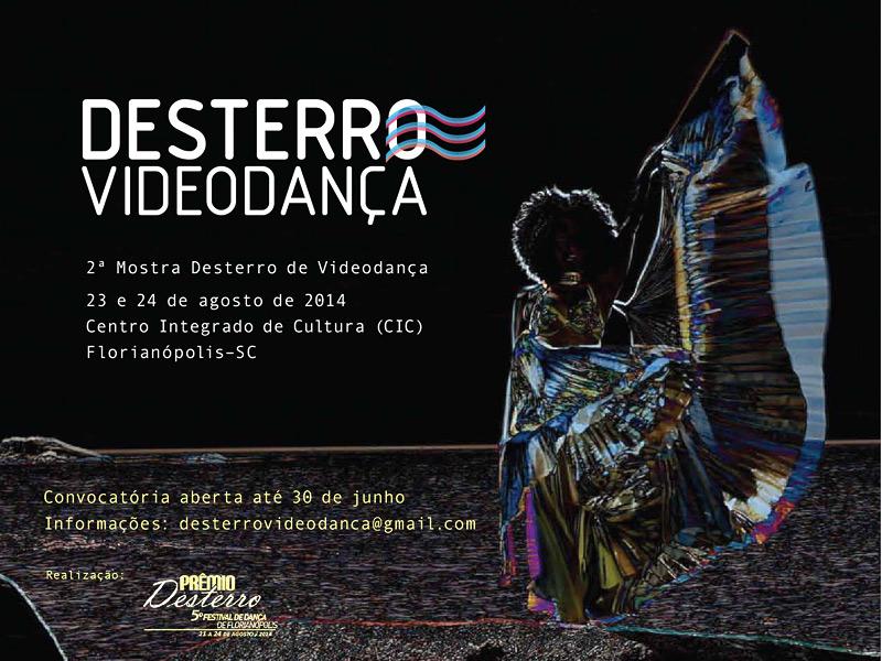 Prêmio Desterro 2014 - inscrições Mostra Videodanca