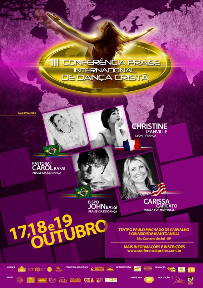 Conferencia praise internacional de dança cristã