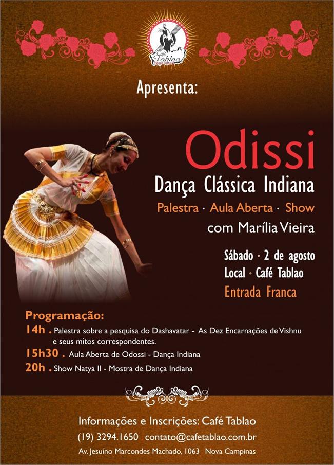 Odissei dança indiana