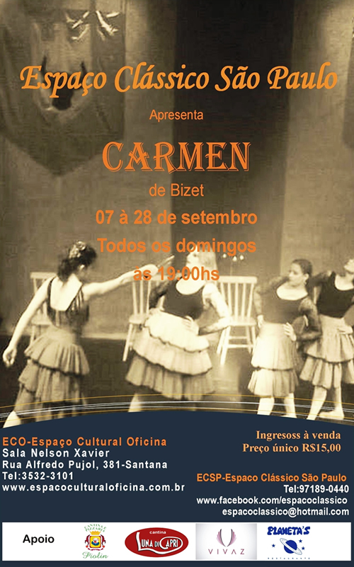 Carmen de Bizet - Hellen Caras