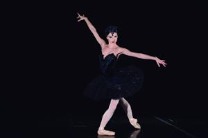 Grand Pas de Deux de o Cisne Negro_photo Arthur Wolkovier_dancer Luiza Lopes II