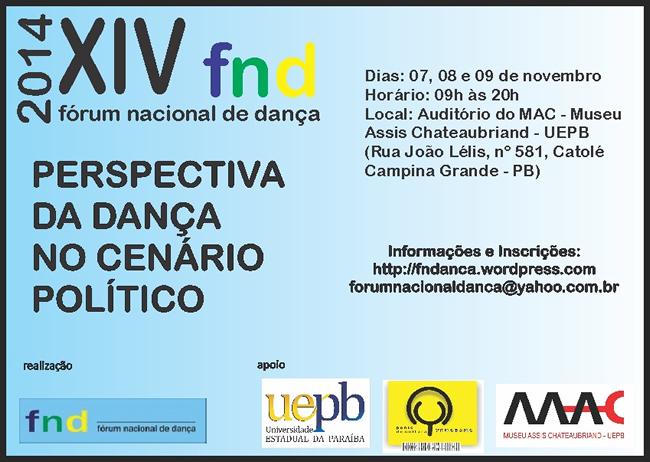 forum nacional de dança