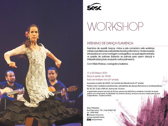 Workshop dança flamenca