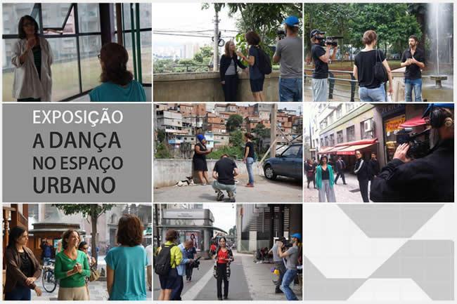 exposição a dança no espaço urbano