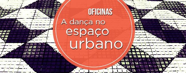 oficnias de dança no espaço urbano