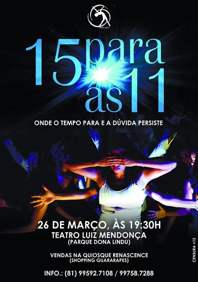 Grupo Arco_15 para as 11_cartaz