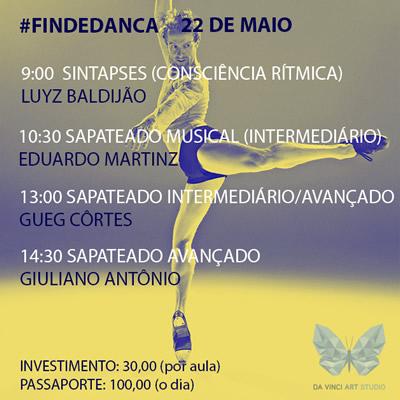Da vinci art studio - Findedanca 3aedicao22.05