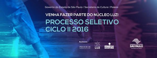 Processo Seletivo Nucleo Luz Ciclo II