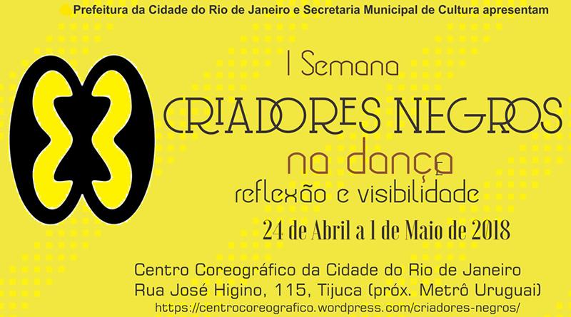 I Semana Criadores Negros na Dança: reflexão e visibilidade