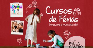 Ballet Paula Castro realiza Curso de Férias para as crianças