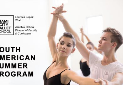 Master Class e Audição para o Miami City Ballet School