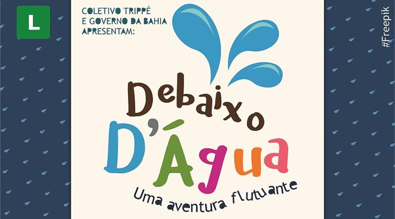 Coletivo Trippé estreia 'Debaixo D'água' nesse final de semana
