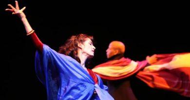Funarte SP recebe os dançarinos Raji e Mudra, da Bélgica, para oficina e espetáculo