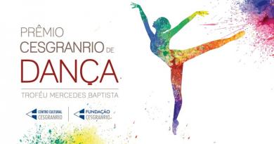 Prêmio Cesgranrio premia o melhor da dança