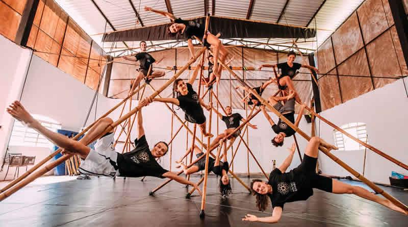 Rede Mundial Corpo Bambu realiza ações em diferentes cidades para promover a Arte Corpo Bambu