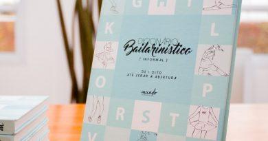 Livro físico do 'Dicionário Bailarinístico Informal – De 1 oito até zerar a abertura' está de volta na Lojinha do Mundo Bailarinístico